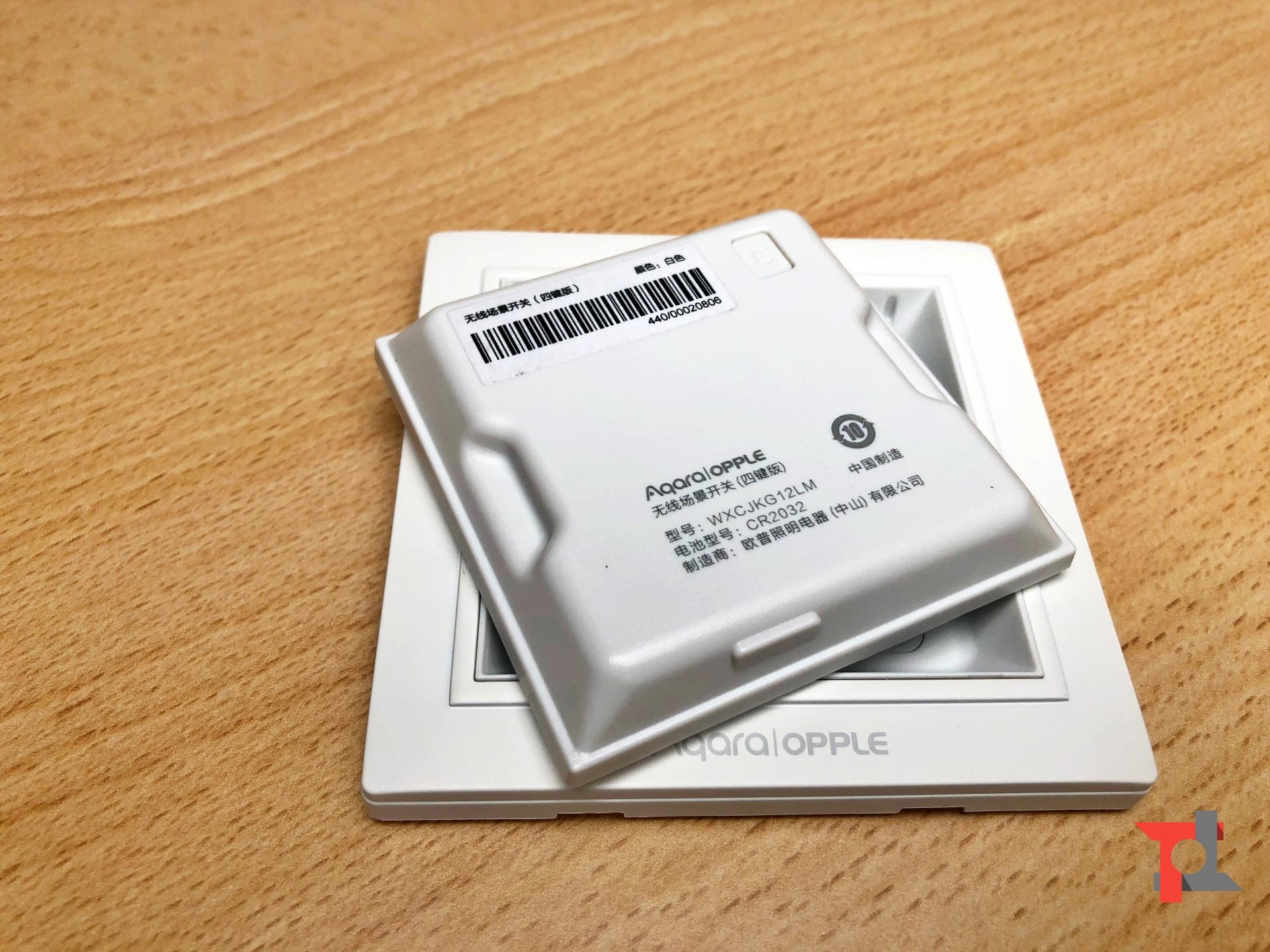 Recensione Aqara OPPLE Wireless Switch a 4 vie, soluzione perfetta per la domotica 1