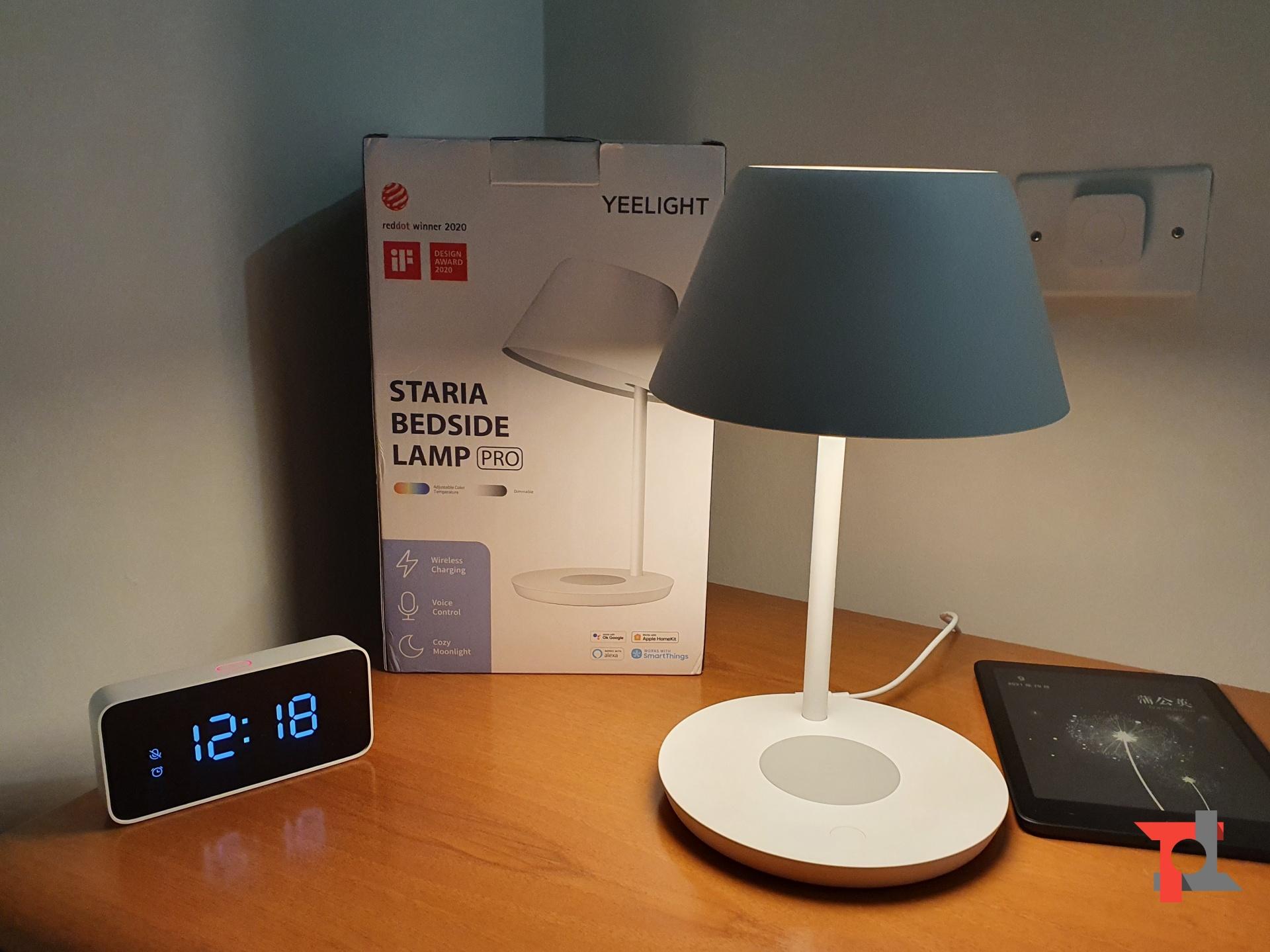 Recensione Yeelight Staria Bedside Lamp Pro, lampada da comodino multifunzione 4