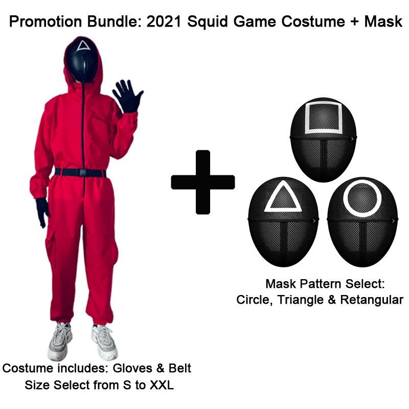 Pazzi per Squid Game? Ecco il costume per Halloween, disponibile per grandi e piccini 5