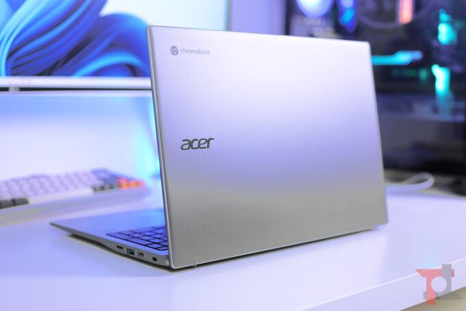 acer chromebook 515 design